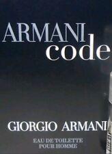 (Lot of 2)Giorgio Armani Code Pour Homme Eau De Toilette Cologne Sample For Men
