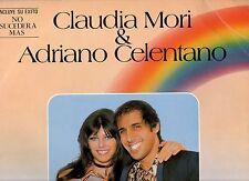 ADRIANO CELENTANO CLAUDIA MORI in SPAGNOLO LP STAMPA SPAGNOLA Storia d'amore 82
