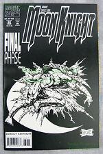 Marc Spector Moon Knight #60 Last Issue Very Early Stephen Platt Art Big Pics!