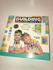 Building Blocks Bricks Glasses Watch Bow Tie DIY Toys Kids, NEW    T12