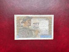 France billet 10 francs mineur RADAR 30.10.1947  Alph A.141