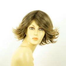 short wig for women brown wick golden ref FLORE 6t24b PERUK