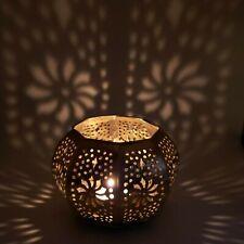 Candle Holder Hexagon Sunflower 5 3.5