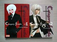 Category: Freaks 1-2, Lot of 2 Seinen Manga, English, Gokurakuin Sakurako
