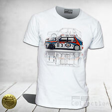 T-shirt Lancia Delta Martini Racing Evo HF Integrale Rally Legend UNISEX UOMO