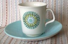 J&G Meakin AZTEC Coffee Cup Duo, Retro, Alan Rogers, 1966, vintage, mid century