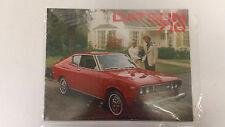 1975 Vintage Datsun 710 Full-Color Brochure Ad Booklet leaflet handout car auto
