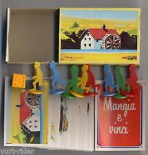 Mulino Bianco Sorpresine - Mangia e Vinci  - 1984 - completa nuova