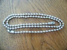 "PULL CHAIN EXTENSION 18 ""  FAN OR LIGHT SILVER/CHROME FINISH"