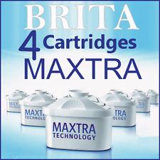 MAXTRA x4 BRITA RICAMBIO ACQUA CARTUCCE Britta BROCCA filtri nuovi confezione da 4