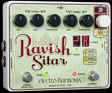 EHX Electro Harmonix Ravish Sitar Simulator Pédale d'Effets Guitare