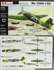 Me 109 H-1/R6 AVIAZIONE MILITARE PROGETTO, AZ modello, 1:72,