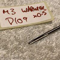 3mm METRIC FIRST TAPER TAP ~ M3 X 0.5 PITCH ~ HSS ~ WARWICK UK ~ D109