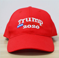 Trump 2020 President Make America Great Again MAGA Baseball Cap Hat Red TOP USA