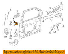 GM OEM-Door Hinge-Lower Right 88937056