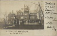 Albany NY Executive Mansion c1905 Real Photo Postcard