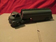 Corgi coe bedford tractor trailer rig unit Army Fuel Tanker about 1/50
