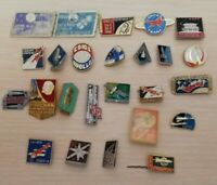 Do not Miss Set of different Russian USSR soviet space program cosmos badges (1)