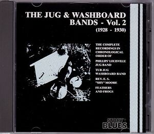 The Jug & Washboard Bands - Vol 2 - CD (3514-2 da music Germany)