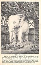 CPA 75 VIEUX PARIS MODELE DE L'ELEPHANT DE LA PLACE DE LA BASTILLE (PROTOTYPE RA