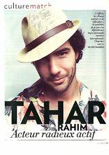 Coupure de presse Clipping 2013 Tahar Rahim  (3 pages)