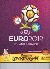 Panini EM 2012 in Polen/Ukraine 1000 Fußball Sticker Sammlung