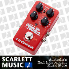 TC Electronic Hall of Fame 2 Reverb Guitar Effects Pedal - w/12 Months Warranty.