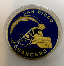 New listing NFL San Diego Chargers Commemorative Collectible Challenge Coin Poker Marker