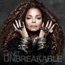 Janet Jackson CD Unbreakable 2015 Album 17 Track Promo Sheet Eyes Open Sleeve