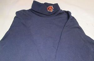 Chicago Bears T-Shirt Youth Large Long Sleeve Turtle Neck NFL Majestic Brand