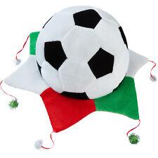 Cappello Tifoso Messico Italia Tricolore Calcio Fan Coppa Mondo World Cup Party