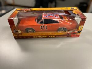 Dukes of Hazzard General Lee 1969 Dodge Charger 1:18 Scale Car Sealed & Works!!