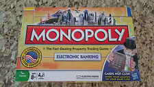 Monopoly Electronic Banking US Cities Edition - 2008 Hasbro - Super Clean!