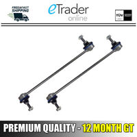FORD FIESTA MK7 FRONT ANTI ROLL BAR DROP LINKS X2 STABILISER LINK 2008-2013