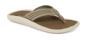 Olukai Ulele Clay/Mustang Comfort Flip Flop Sandal Men's US sizes 7-15 NEW!!!