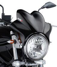 Windschutz-Scheibe Puig WV für Kawasaki ZRX 1200 Cockpit-Scheibe schwarz