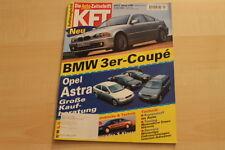 72889) Opel Astra Kaufberatung - Renault Clio V6 - KFT 01/1999