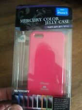 "Coque Etui Housse "" JELLY CASE MERCURY"" pour iPhone 5 Rose"