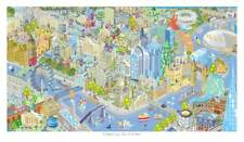 LONDON Beautiful contemporary illustrated map, limited edition of 150