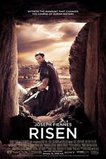 RISEN 2016 Original Promo Mini Movie Poster Joseph Fiennes Tom Felton P Firth