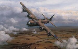 Limited Aviation Print Sterling Service by Philip E West (Short Stirling)