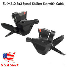 US 3x8 Speed Shift Lever Shifter Bike Bicycle Parts for Acera SL-M310 Universal