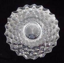 Vintage Fostoria Glass Sandwich Plate American Clear pattern 11 inches  EUC