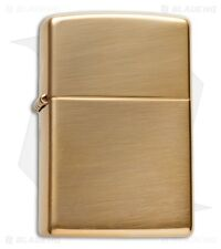 NEW ZIPPO LIGHTER 254B HIGH POLISHED BRASS METAL LIGHTER USA MADE