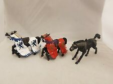 Papo Bundle of 3 Horse Figures Knights