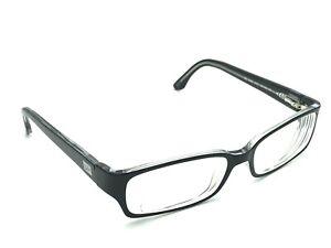 Ray-Ban RB 5092 2034 Women's Black Clear Rectangular Rx Eyeglasses 52-15 135