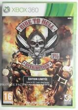 jeu RIDE TO HELL RETRIBUTION edt. limitee xbox 360 francais game spiel NEUF new