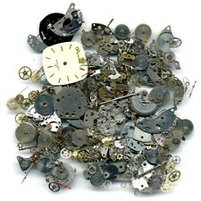 50g STEAMPUNK JEWELLERY ART CRAFTS CYBERPUNK COGS GEARS ETC WATCH PARTS - FS1380