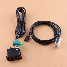 USB AUX Switch Socket Harness Cable Adapter fit forMini Cooper R50 R52 R53 01-06