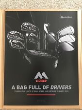 Taylormade Cgb Irons Golf Poster A Bag Full Of Irons